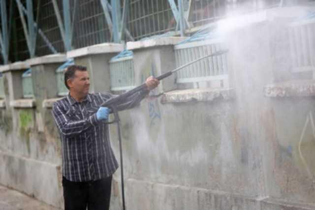 高圧洗浄での掃除は注意が必要