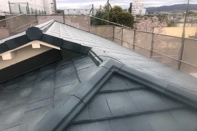 コロニアル屋根の劣化症状
