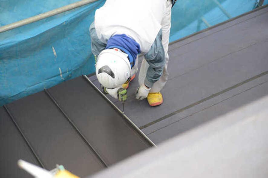 屋根材の修繕