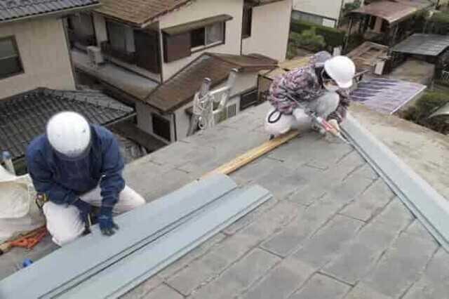 瓦屋根の修理の方法