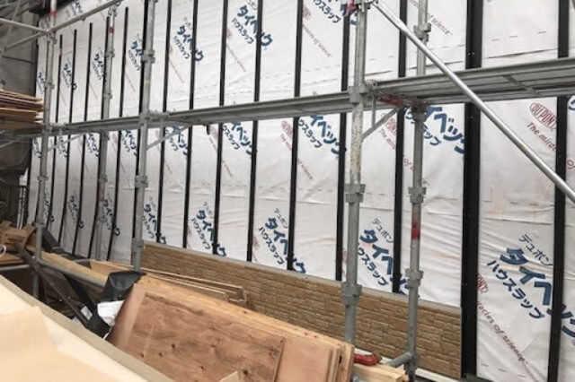 外壁の張り替え工事