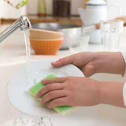 節水コマで節水&ガス代節約!食器洗いの強〜い味方