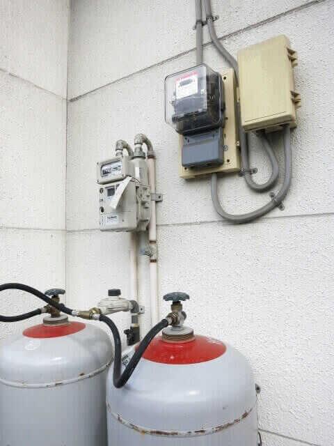 ガスが止まった場合のチェック①:ガス漏れしていませんか?